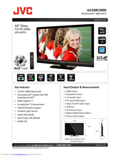 JVC Black Crystal JLC47BC3002 Specifications