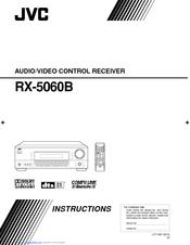 jvc rx 5060b manuals rh manualslib com JVC a V Receiver Thx JVC RX300