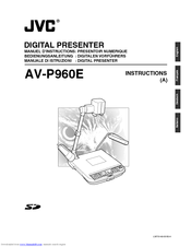 JVC AV-P960E Instructions Manual