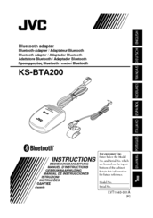 JVC KS-BTA200 Instructions Manual