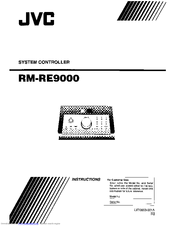 JVC RM-RE9000 Instructions Manual
