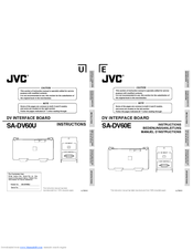 JVC SA-DV60U Instruction Manual