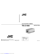 JVC TK-C1460BE Instruction Manual