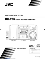 JVC CA-UXP55 Instruction Manual