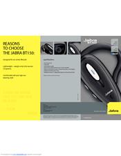 jabra bt150 headset over the ear manuals rh manualslib com Jabra Headset Manual Jabra Owner's Manual