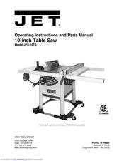 Jet Jps 10ts Manuals