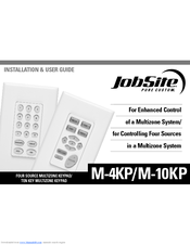 Jobsite M-10KP Installation & User Manual