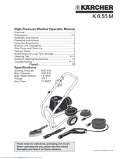Karcher K 6.85 M Operating Instructions Manual
