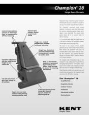 kent razor plus 28d parts manual