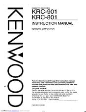 kenwood krc 801 manuals rh manualslib com KRC Rock KRC Block and Brick
