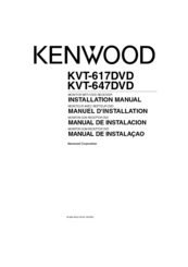 kenwood kvt 617 wiring diagram free picture kenwood kvt 617dvd installation manual pdf download  kenwood kvt 617dvd installation manual