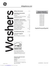 ge gfwn1100lww manuals rh manualslib com GE Washer Service Manual Owners Manual GE Appliances