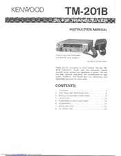 Kenwood TM-201B User Manual