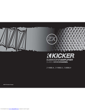 kicker zx1500 1 manuals kicker zx1500 1 owner s manual
