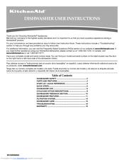 KitchenAid KUDE40FXSS User Manual