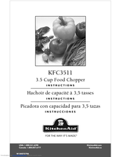KitchenAid KFC3511 User Manual