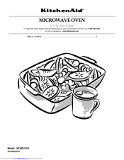 KitchenAid KCMS1555SSS - Countertop Microwave Oven Use & Care Manual