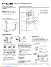 KitchenAid Architect II KHMS1850S Datasheet