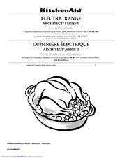 Kitchenaid Kers205tss Electric Range Manuals