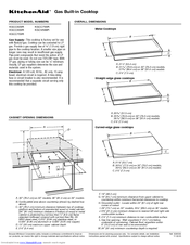 KitchenAid KGCC766R Install Manual