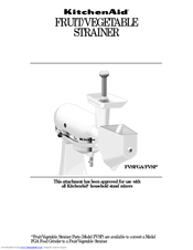 KitchenAid FVSP User Manual