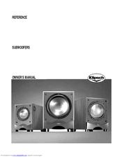 Klipsch rw-10d manuals.
