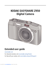 kodak easyshare z950 extended user manual pdf download rh manualslib com Kodak EasyShare Z1015 Batteries Kodak EasyShare ZD710