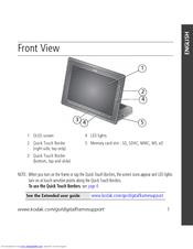 kodak oled wireless frame manuals. Black Bedroom Furniture Sets. Home Design Ideas