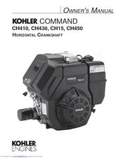 Kohler ch15 инструкция