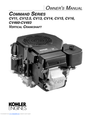 Kohler CV12.5 User Manual