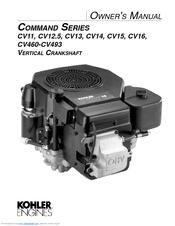 Kohler CV12.5 User Manual