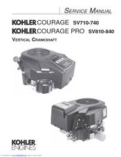 kohler courage sv720 manuals rh manualslib com Kohler Carburetor Breakdown Kohler Lawn Mower Engines