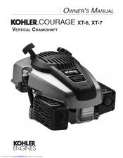 how to change spark plug ariens kohler courage xt-7