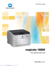 konica minolta magicolor 1600w manuals rh manualslib com Konica Minolta Magicolor 7450 II konica minolta magicolor 1600w manual download