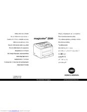 Magicolor 5430 dl/5440 dl/5450 service manual (4138-7991-31).