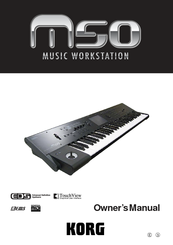 Korg EASYSTART M50 Owner's Manual