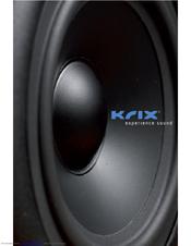 Krix KDX-M User Manual