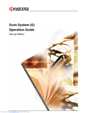 Kyocera KM-8030 Operation Manual