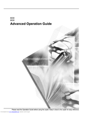 Kyocera KM-8030 Advanced Operation Manual