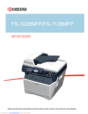 kyocera ecosys fs 1128mfp user manual