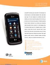 lg gt550 manuals rh manualslib com LG Encore GT550 Slider LG GT550 Battery
