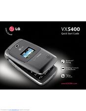 lg vx5400 manuals rh manualslib com LG VX4400 LG VX6100