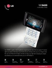 lg vx 9400 manuals rh manualslib com LG VX9400 Anntena LG VX9400 Anntena
