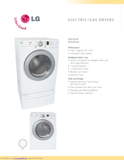 lg dle2516w manuals rh manualslib com LG Dryer Diagram LG Washer and Dryer