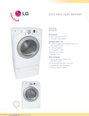 lg dle2516w specifications pdf download rh manualslib com LG DLE2516W Dryer Problems LG DLE2516W Dryer Problems