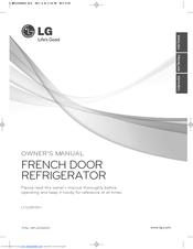 lg lfx28978st owner s manual pdf download rh manualslib com LG LFX28978ST Refrigerator Start Relay LG Counter-Depth Refrigerator