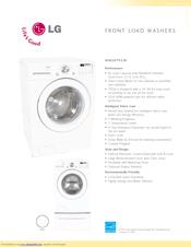LG WM2075CW Specifications