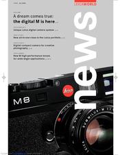 leica m8 manuals rh manualslib com leica m8 user manual pdf leica wild m8 manual