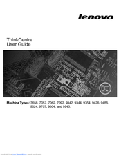 LENOVO THINKCENTRE A62 3656 USER MANUAL Pdf Download