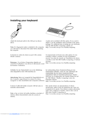 Lenovo 73P5220 - ThinkPlus Preferred Pro USB Keyboard Wired User Manual